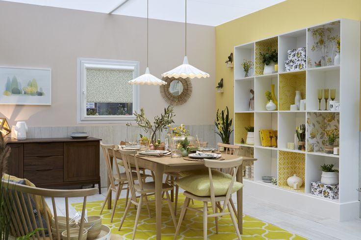 'Pastel Dining Room' by Good Homes Magazine at Ideal Home Show, London 2016
