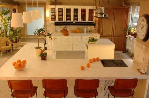 Kuchnia Francuska Château, którą w łatwy sposób można zintegrować z salonem