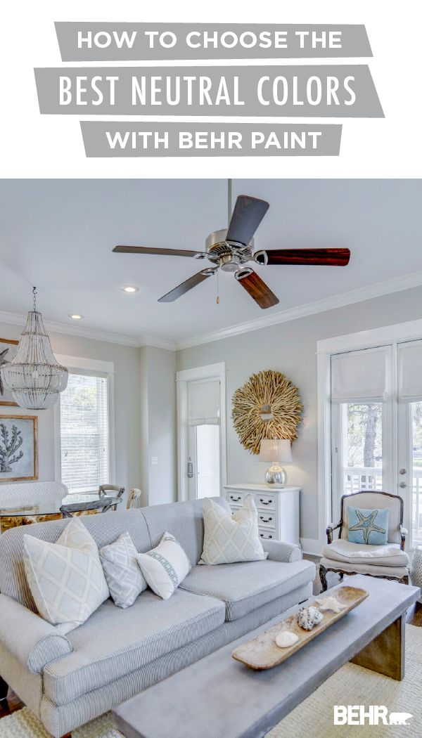 incredible behr paint living room | Beach House Renovation: Choosing the Best Neutral Paints ...