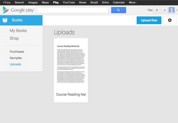 Google Play Books Redesigned Now Lets You Upload Your Own Files Google Play Play Book Google