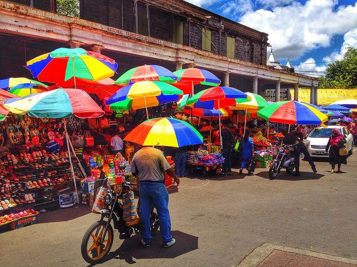 Street Hawkers in Port Louis #mauritius #olivierjodun
