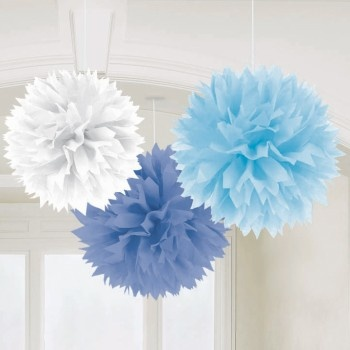 Tissue Poms - great wedding decoration