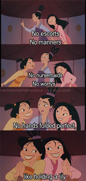 From Disney's Mulan II