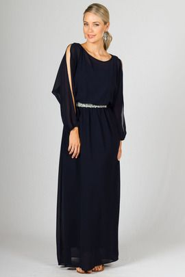 Candice Maxi Dress - Navy by Paper Scissors Frock