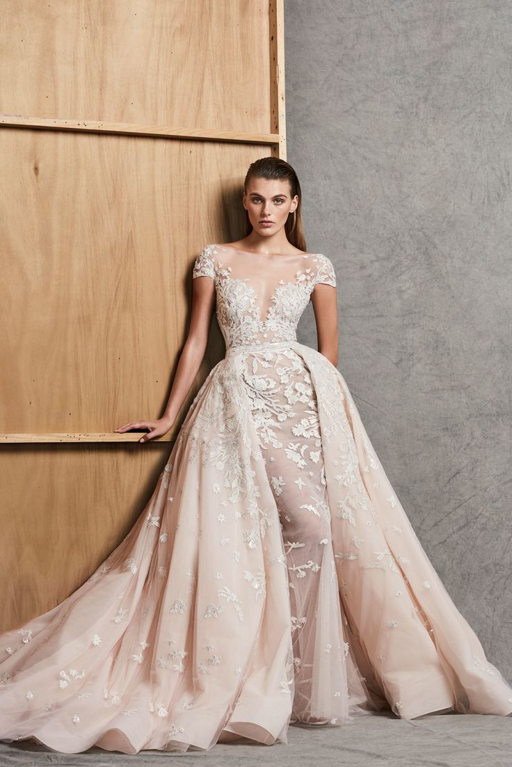 Zuhair Murad Bridal Fall 2018 Fashion Show Collection