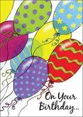 On your birthday - and all years through, the best in life is wished for you. - $3.89