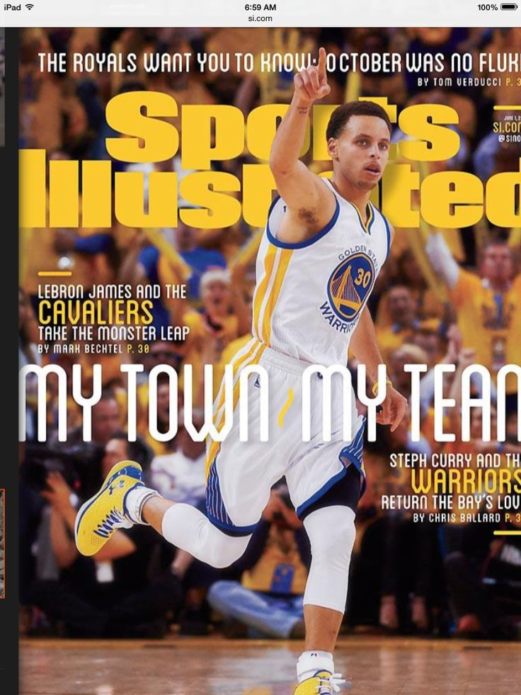 Stephen Curry - Sports Illustrated
