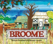 My Home Broome - a beautiful new picture book that captures the heart and soul of the unique multicultural community of Broome in Australia's north west. With a poem written by ten year old Tamzyne Richardson as its centerpiece, My Home Broome is a rich collage of interesting facts and vibrant artwork that reflects the town's rich history and diverse ecology. Written by Tamzyne Richardson and illustrated by Bronwyn Houston and friends.