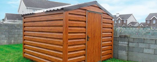 C & S Sheds is an Ireland based garden sheds manufacturing company which provides you durable garden sheds throughout Ireland.Read more: http://candssheds.ie
