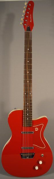 NEW! Danelectro '56 Baritone Guitar (red) | Reverb