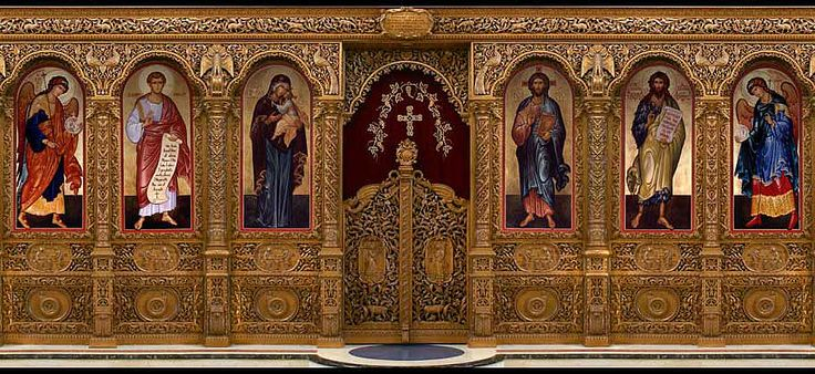 The Sovereign Tier of an Iconostasis