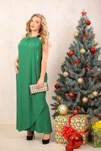 Плюс размер 5xl 6xl женщины длинное платье Краткое Свободные Твердые Рукавов…