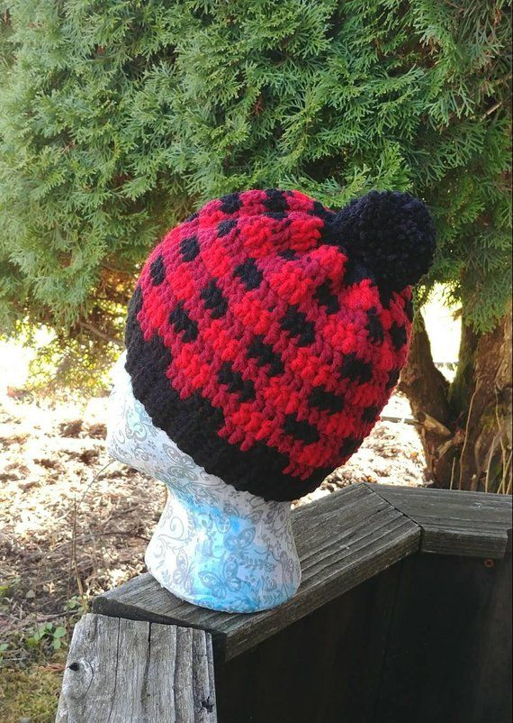 Buffalo Plaid Beanie e03e11bf3b66