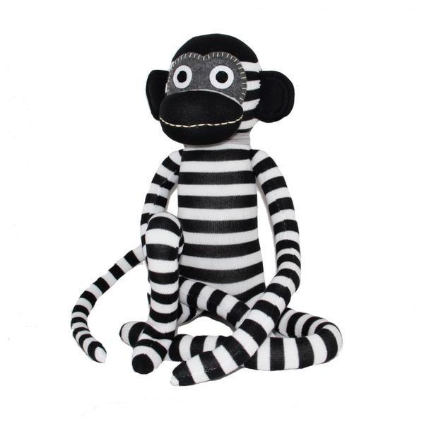 Strippey sock monkey
