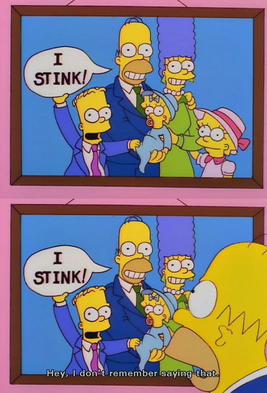My Favorite Scene From The Simpsons