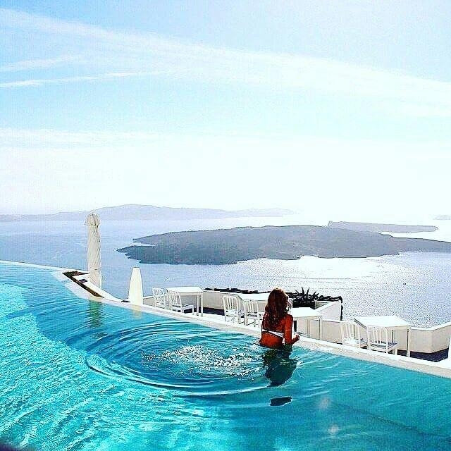 www.aquaswim.ro   Santorini, Grecia 🇬🇷  beautiful #relax #distracție #energie #vacanta