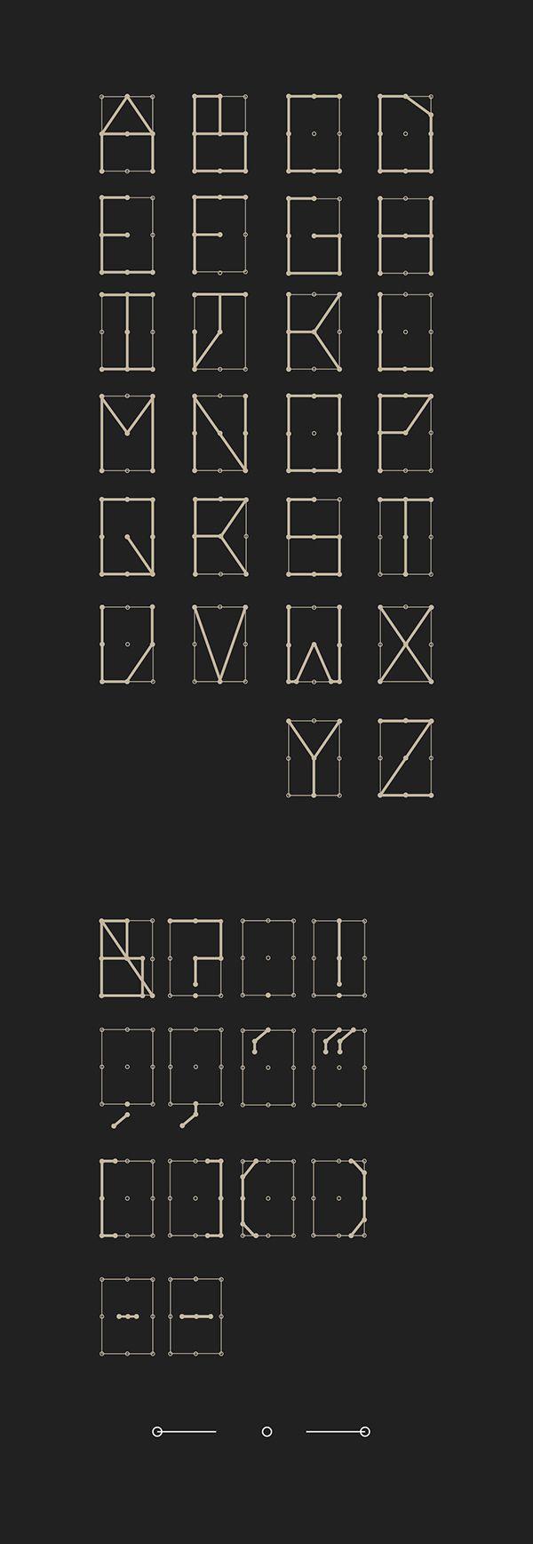 PinDot. - Display Font on Behance