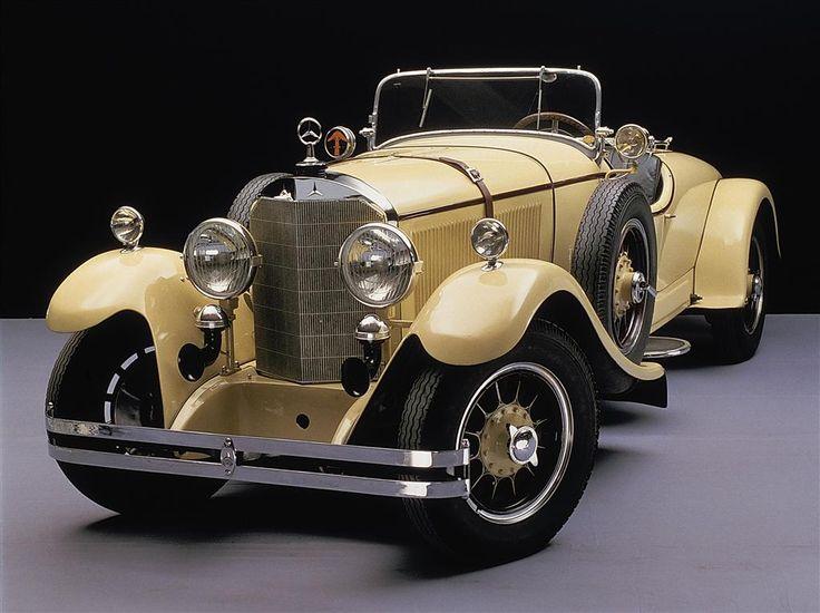 mercedes sportwagens vom typ 630 aus dem jahr 1926