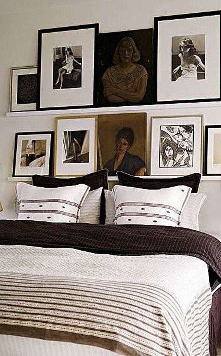 Bedroom wall decoration frames - Shelves For Framed Art Bedroom Wall