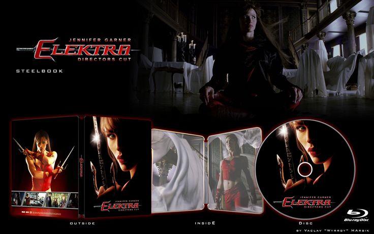 Elektra -  - STEELBOOK -  Fan art