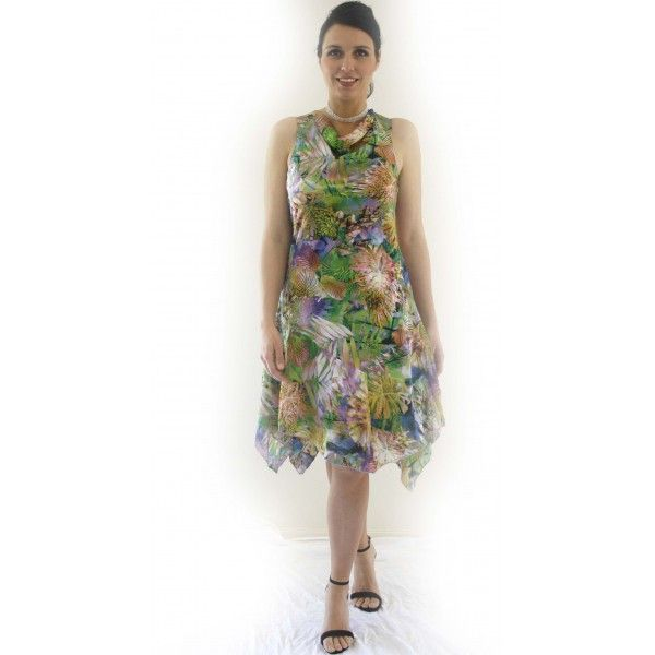 Woniah Paradise Print Dress