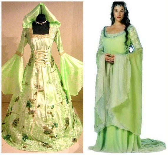 Robe médiévale 20-22-24 XL-2XL-3XL gothique costume mariage sorcière mariage tudor wicca Carnaval celtique vampire halloween LOTR renaissance