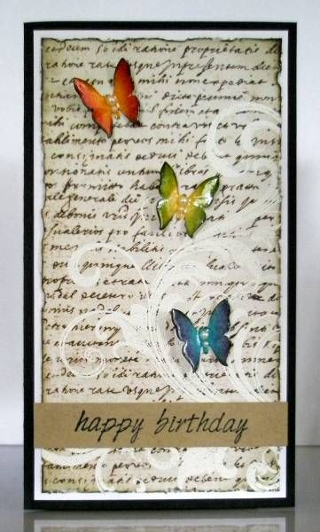 b: Cards Ideas, Butterfly Cards, Cards Birthday, Cards Butterflies, Swirls Butterflies, Happy Birthday Cards, Cards Tags, Butterflies Cards, Cardtaginspir Excel