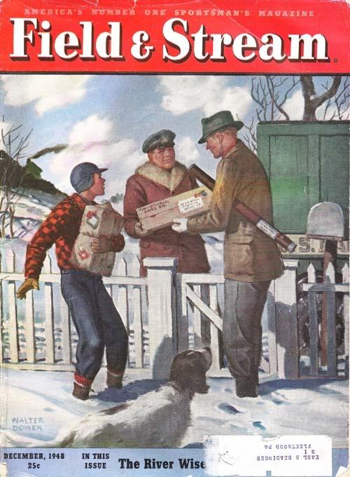 F 1948 hunting fishing magazine covers pinterest for Hunting and fishing magazine
