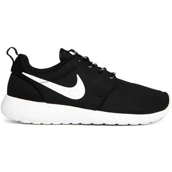 Roshe Run trainers by Nike A breathable mesh upper. Lightweight cushioned sole. Cushioned cuff for comfort. Lightweight waffle tread outsole for greater tracti…