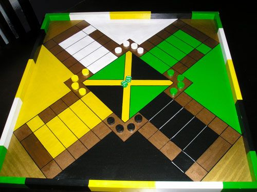 how to draw a ludi board