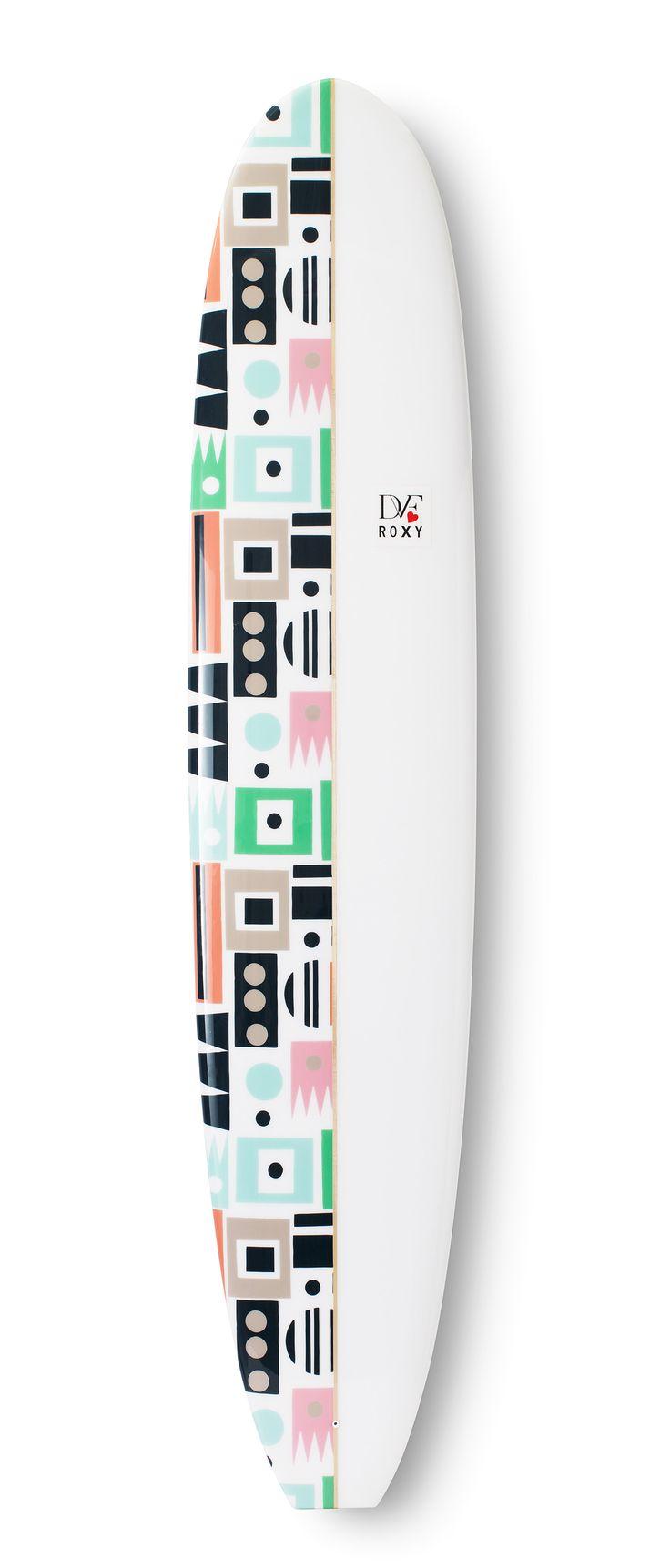 Limited Edition #DVFlovesROXY Hopscotch board @DVF