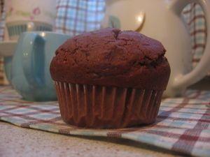 Amerikkalaiset suklaamuffinssit. Tasty chocolate muffins, mmmmmmm