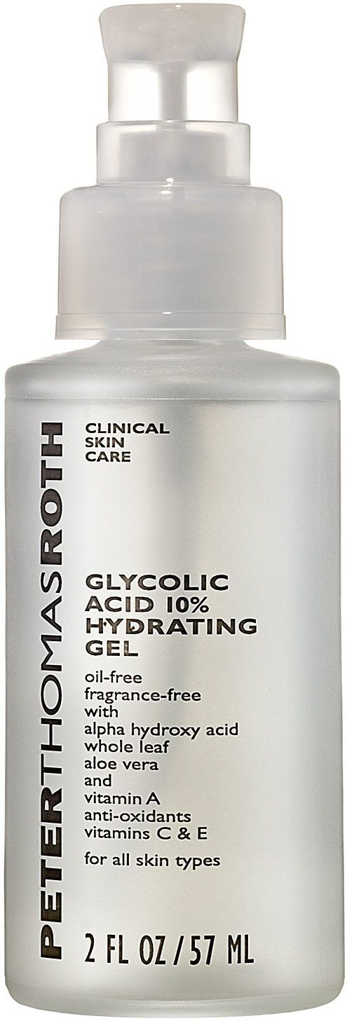 Peter Thomas Roth Glycolic Acid 10% Hydrating Gel http://houseofstars.dk/shop/peter-thomas-roth-3930p.html