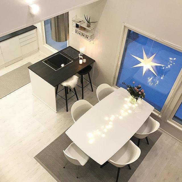 Have a nice evening ✨ . #homeinspo #homeinterior #home #interiorstyling #interior #interiordesign #interior4all #interior_and_living #interior123 #like4like #myhome #nordichome #nordiskehjem #nordicminimalism #instahome #instakodit #koti #hus10a #inredning #hem_inspiration #hem #etuovisisustus #styleroom_fi #sisustus #keittiö #kitchen #diningroom #boconcept #hay #haydesign