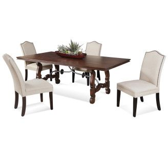 Shop For Bassett Mirror Company Watson Casual Dining Set, And Other Dining  Room Tables At Wright Furniture U0026 Flooring In Hannibal, MO.