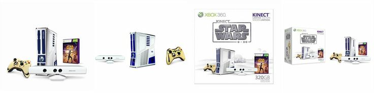 Limited Edition XB360 Hardware 320 GB Kinect Star Wars Bundle by XB360 | chapters.indigo.ca