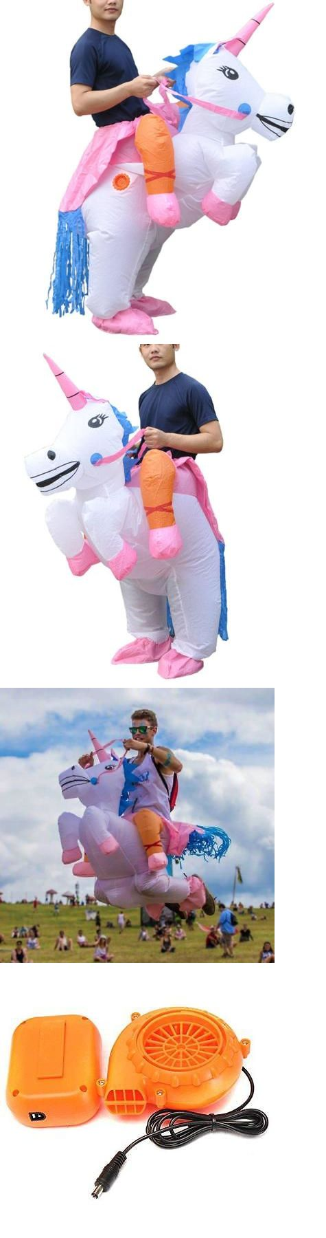 Halloween Costumes: Inflatable Adult Ride On Unicorn Party Halloween Fancy Couple Disguise Costume -> BUY IT NOW ONLY: $37.98 on eBay!