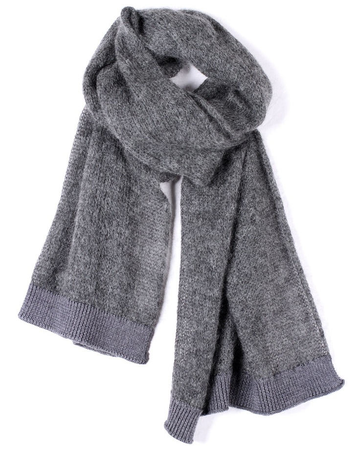 Mohair Scarf in Smoke by Zambesi - Jewellery, Scarves and Hats - Accessories