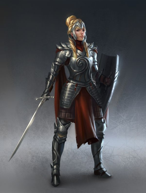 Work for Rafael Vargas The first of a set of 12. wow, this should keep me busy for the next few months From the author: Jenna is a 27-year-old warrior. Neutral Good. Legendary Leader/Tactician. At ...