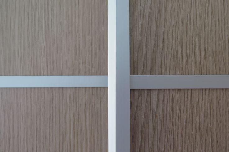 Detalle perfileria aluminio y divisiones