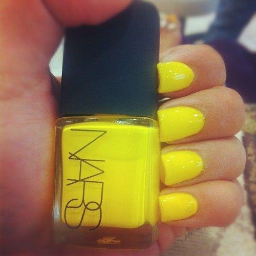 Best 25+ Yellow Nail Polish Ideas On Pinterest