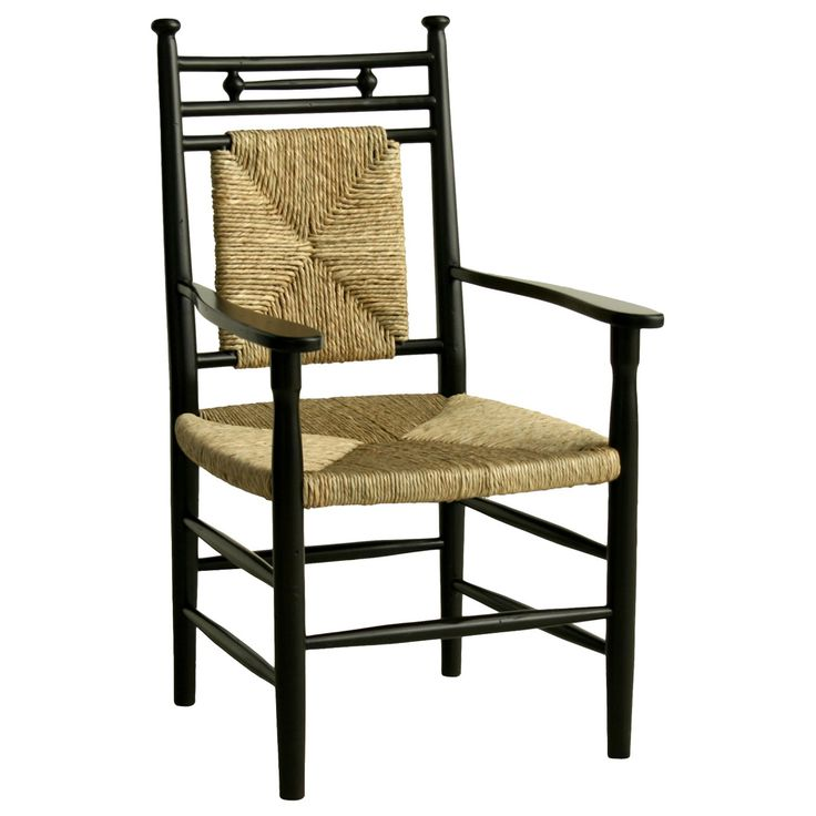 Abigail Dining Arm Chair In Black Design By Redford House