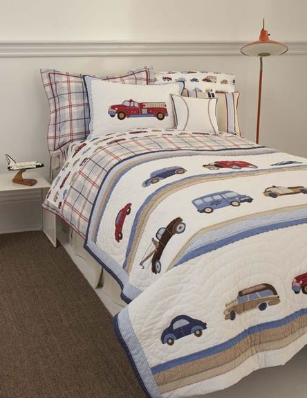 love these cars trucks for a little boys room