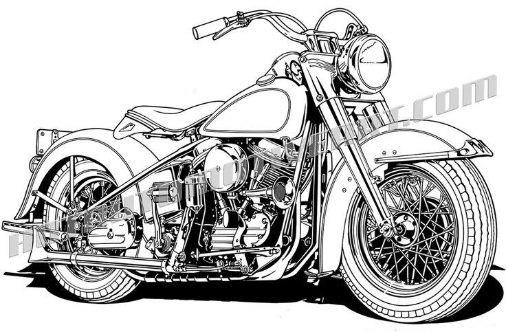 72 best biker art images on pinterest