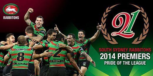 2014 Premiers - South Sydney Rabbitohs