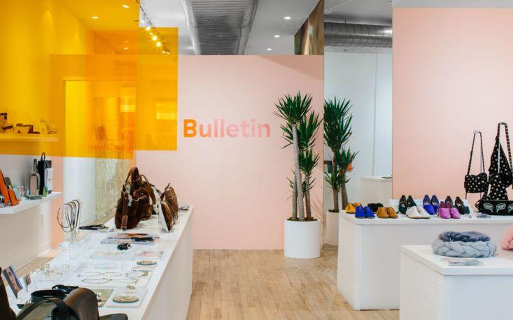 A Creative SoHo Pop-Up for Bulletin