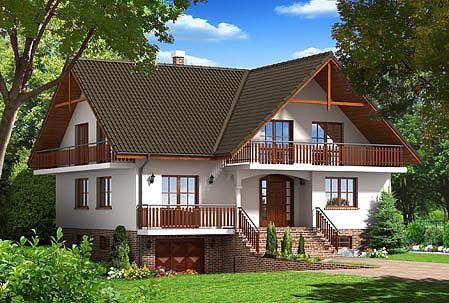 Projekty domů - Dom-Projekt :frýdman