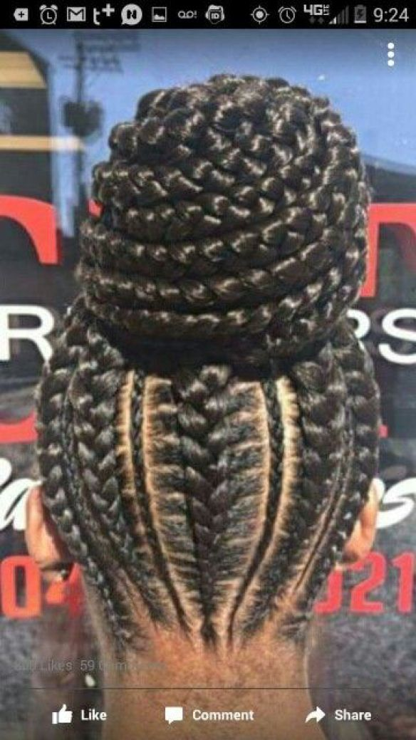 50 Ghana Braids Hairstyles Pictures For Black Women