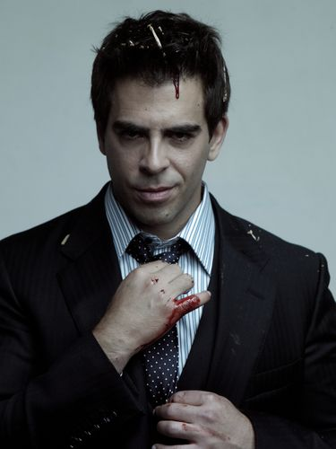 eli roth - i probably won't watch any movie you make but you're gorgeous.