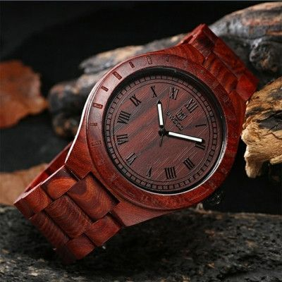 Newest Hot sell !!! Luxury Brand Wooden Men Quartz Watch Japan Movt Handmade Limited Unique High Quality Wood Watches Men